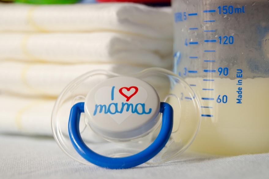 szklane butelki dla niemowląt